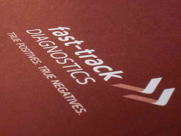Corporate Identity und Packaging Design für Fast Track Diagnostics