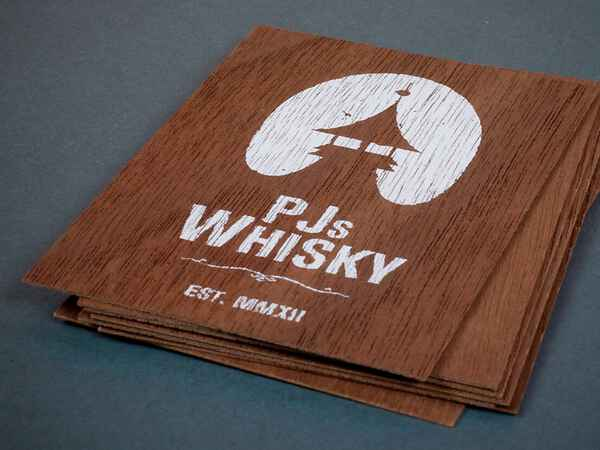 Corporate Identity für PJs Whisky